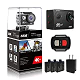 SSA WIFI Sports Action Camera Ultra HD 12MP Caméscope DV...