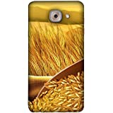 FUSON Designer Back Case Cover For Samsung J7 Max (Wheat Farmers Farms Morning Sunlight Bright Day) - B075C5PYY6