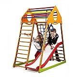 Kinder Aktivitätsspielzeug Kletterturm mit Rutsche ˝Kindwood-1˝ Spielcenter Spielplatz