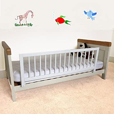 Safetots Wooden Bed Guard - low-cost UK light shop.
