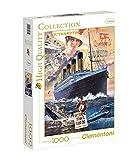 Clementoni 39271.1 - Puzzle Kollektion Titanic, 1000 Teile
