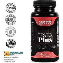 Testosterona formulada con TESTOFEN + ginseng, zinc y maca. Testosterona natural REGISTRADA y avalada