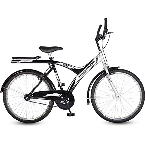 Hero SSTR26BK0001 Street Racer Single Speed Bike (Black)