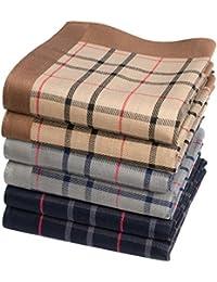 """Mouchoirs tartan """"Stirling"""" - 43cm x 43cm - 6 unités"""