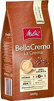 Melitta Ganze Kaffeebohnen, 100 % Arabica, mittlerer Röstgrad, Stärke 3, BellaCrema la Crema