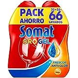 Somat or Gel–frescor anti-olor avec vinaigre et neutralizadores actifs du odeur–Nettoyant pour lave-vaisselle...