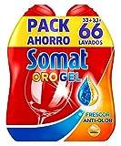 Somat Spülmaschinen-Gel, 2Stück, bis zu 33Wäschen