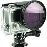 Rollei Lens Filter Set for GoPro Hero 3/ 3+/ 4 - Filtres pour lentilles - avec filtres -UV/ -CPL / -magenta / -Rouge
