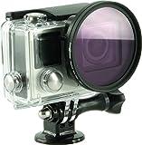 Rollei Lens Filter Set - Filtri per Lenti per GoPro Hero - 1x Filtro UV - 1x Filtro Polarizzatore - 1x Filtro Magenta - 1x Filtro Rosso - Rollei - amazon.it