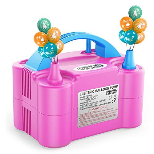 Dr.meter Bomba Eléctrica Inflar Globos