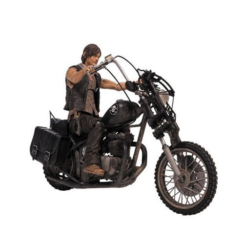 McFarlane Toys The Walking Dead TV Deluxe Box Set (Daryl Dixon with Chopper) by McFarlane Toys (Daryl Chopper Und Dixon)
