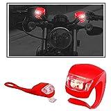 #6: Vheelocityin 2+2 Led Red Bike Light with Flashing Mode Motorcycle LED