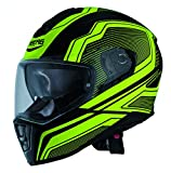 Caberg Drift Flux Matt Black / Yellow casco del motociclo