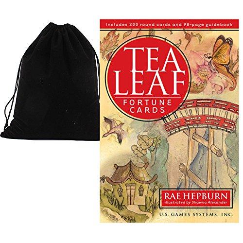 Shop4top Tea Leaf Fortune Karten Deck Und Beutel
