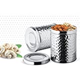 [Sponsored]Meet Stainless Steel Kitchen Storage Hammer Canister With Lid, 5000 Ml