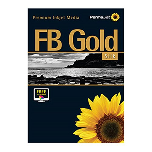 Gold Hawk Seiden (PermaJet 22797111,8cm X 15m Fb Seide Papier Rolle-gold)