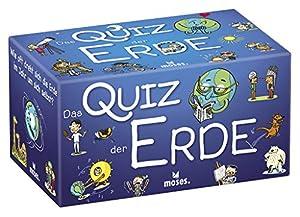 Moses. 90325el Quiz la Tierra | Niños Quiz | para niños a Partir de 8años, Multicolor