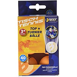 Mejor deporte 3 estrellas mesa de bolas del torneo - naranja