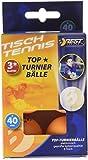 BONUS ET SALVUS TIBI (BEST) Mejor deporte 3 estrellas mesa de bolas del torneo - naranja