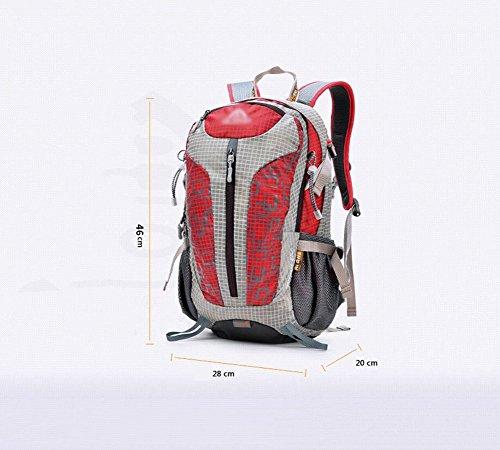 HWLXBB Outdoor Bergsteigen Tasche Man And Lady Mehrzweck-Bergsteigen Tasche Wandern Camping Bergsteigen Rucksack 6*