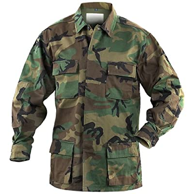 Mil-Tec BDU Combat Hemd Woodland von Mil-Tec - Outdoor Shop