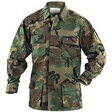 Mil-Tec BDU Combate Camisa Woodland tamaño XL