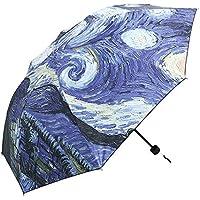 Peepheaven Pintura innovadora del Paraguas de los Artes de la Pintura al óleo de Van Gogh