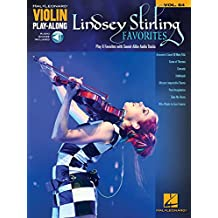 Lindsey Stirling Favorites: Violin Play-Along Volume 64 (Hal Leonard Violin Play-Along)