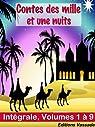 Les milles et une nuits (Version Intégrale: 9 tomes) par Galland