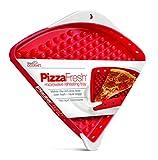 Handy Gourmet E7576 Mikrowelle Pizza Fach, 75% PP, 25, Silicone, rot, 30,48 x 26,67 x 2,845 cm, 12 Einheiten