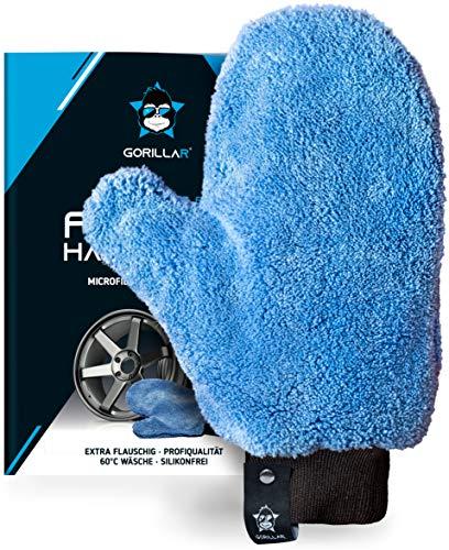 GORILLAR Microfaser Felgen-Handschuh für Auto Motorrad Fahrrad inkl.Aufhänger