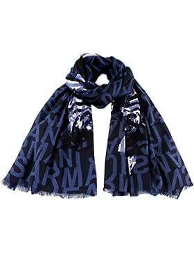 ARMANI JEANS Damen Schal im Geschenkbox 924195 blau