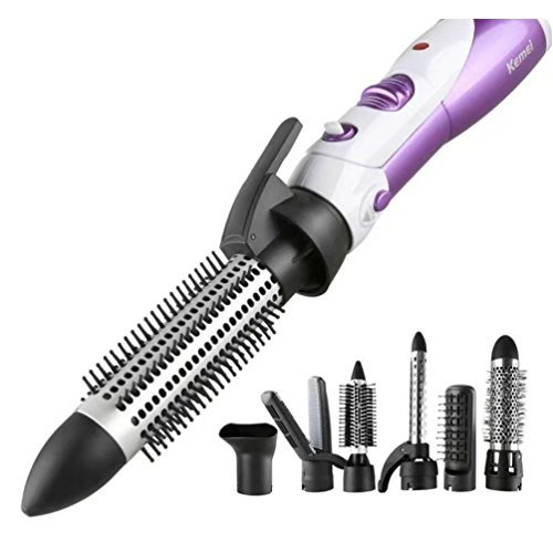 Rizador 7 en 1 para el pelo, de Atongham; 7 cilindros: rizador, alisador, secador, etc