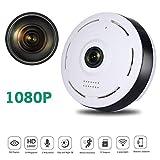 1080P HD IP WiFi Sécurité Caméra , Caméra de Surveillance Panoramique...