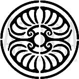 Groß A2 'Kreis Georgisch' Wandschablone / Vorlage (WS00014987)