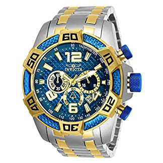 Invicta 25855 Pro Diver SCUBA Reloj para Hombre acero inoxidable Cuarzo Esfera azul