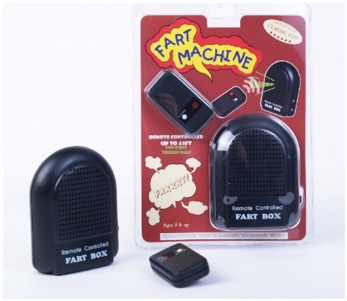 Classic Gift Collection Remote Control Fart Machine by Classic Game Collection (Fart Machine Remote)