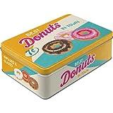 Nostalgic-Art 30730 USA - Donuts, Vorratsdose Flach