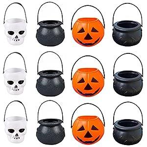 Mini Cubo Caramelos Halloween,Cubo de