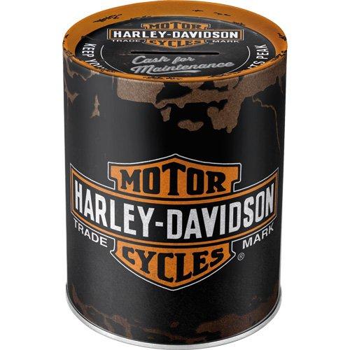 nostalgic-art-31001-salvadanaio-mod-harley-davidson-genuine-logo
