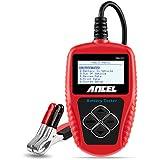 ANCEL BA101 Tester Batteria Auto Professionale 12V 100-2000 CCA 220AH Analizzatore Digitale Test Strumento per Auto/Barca/Moto e Altro Ancora