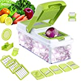 Best Vegetable Cutters - 9 in 1 Mandoline Cutter Slicer-Vegetable,Food,Tomato Slicer,Cheese Sliver,Grater Review