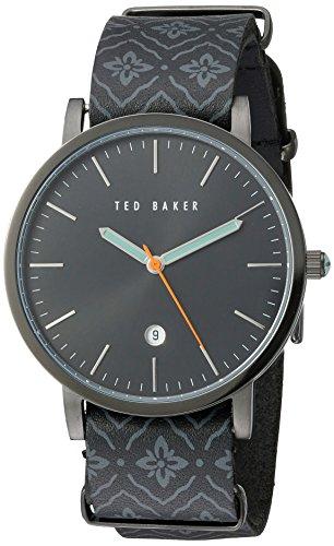 Ted Baker 10030768 - Reloj de Pulsera Hombre, Color Negro