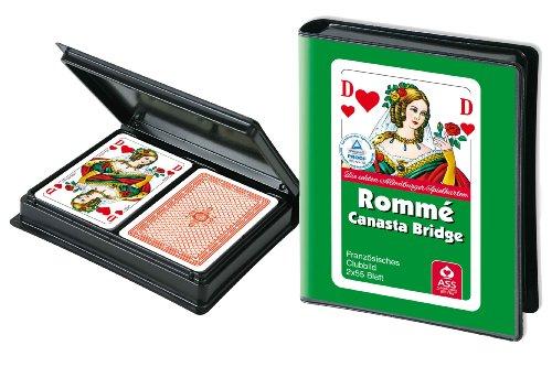 Spielkartenfabrik Altenburger 6680 - Rommé, Folienetui - Großhandel Spielkarten