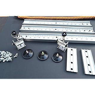 Acid Tactical® 20,3 cm zu 127 cm 15 cm - 127 cm Profi Paracord Jig - Gürtel Armbänder Parachute Tragetücher alle Aluminium & verstellbar