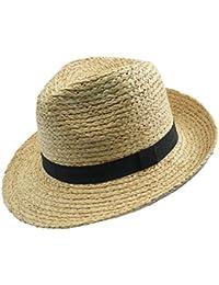 Amazon.es  sombrero de paja - Sombreros cowboy   Sombreros y gorras ... 4410ed12ea3