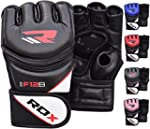 RDX Maya Hide Leather Grappling MMA G...