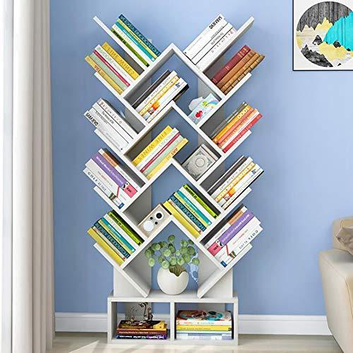Bingfeng la libreria a quattro piani consente di risparmiare spazio, è facile da riporre, facile da organizzare e si trova nel portale e nel soggiorno. scaffale per libri a fumetti manga bianco
