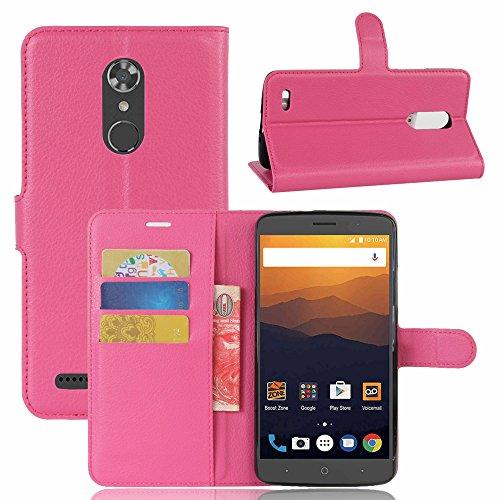 ZTE MAX XL N9560/Z986 Hülle,Frlife   BookstyleHandyhüllePremiumPU-LederklapptascheCaseBrieftascheEtuiSchutzHüllefürZTE MAX XL N9560/Z986(6 Zoll) Phone Case Für Zte Max
