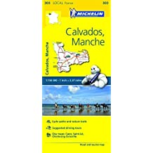 Michelin FRANCE Calvados, Manche Map 303 (Maps/Local (Michelin)) by Michelin Travel & Lifestyle (2016-04-07)